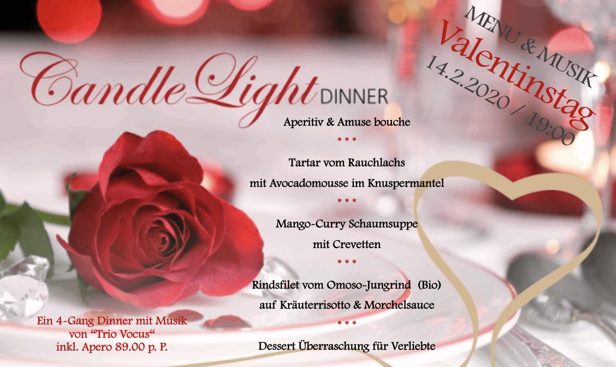 Valentinstag dinner bern